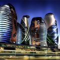 Towers in Baku
