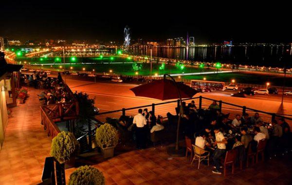 تور باکو در هتل چهار ستاره ریویرا مشرف به دریا
