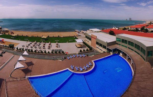 تور باکو با هتل تاپ چهار ستاره تاپ ساحلی رامادا باکو
