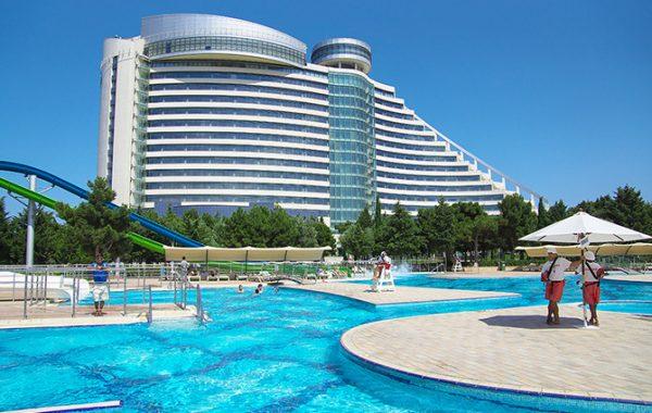 تور باکو با هتل پنج ستاره تاپ جمیراه باکو