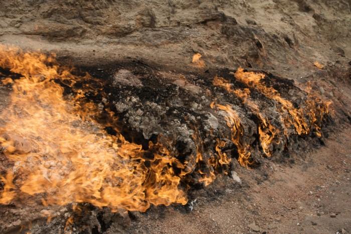یانار داغ ، کوه سوزان باکو