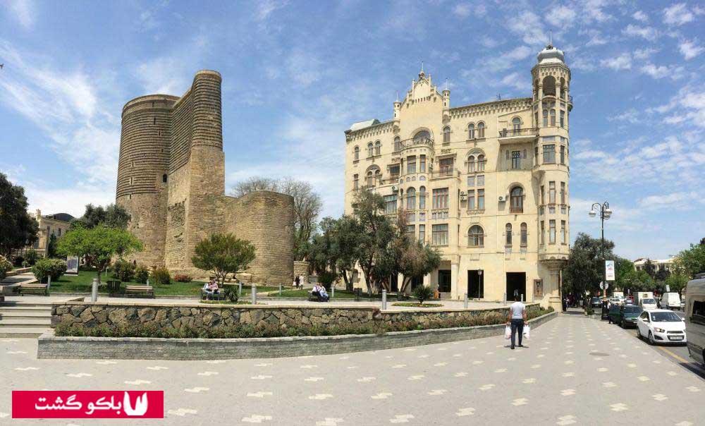 مکان های دیدنی باکو آذربایجان