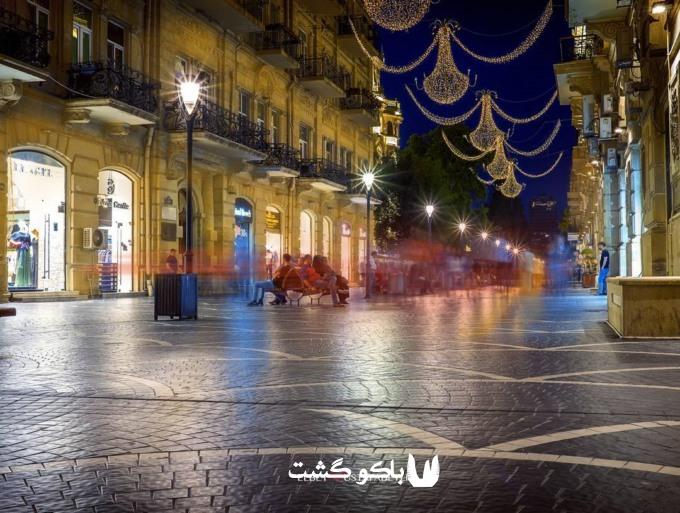 تور باکو در تابستان 96 - شب های باکو