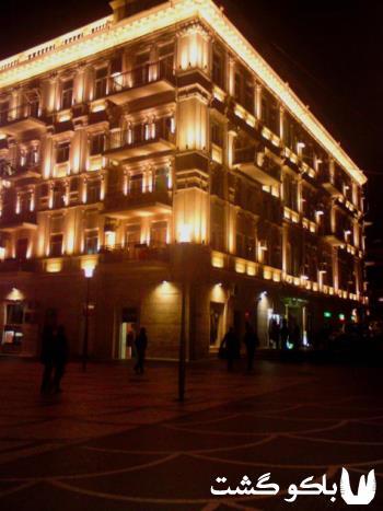 هتل های باکو ، هتل آزکوت