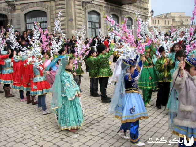 نوروز 97 در باکو آذربایجان