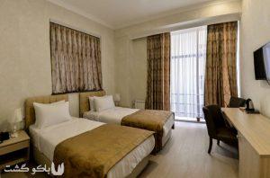 هتل باکو ، آمار