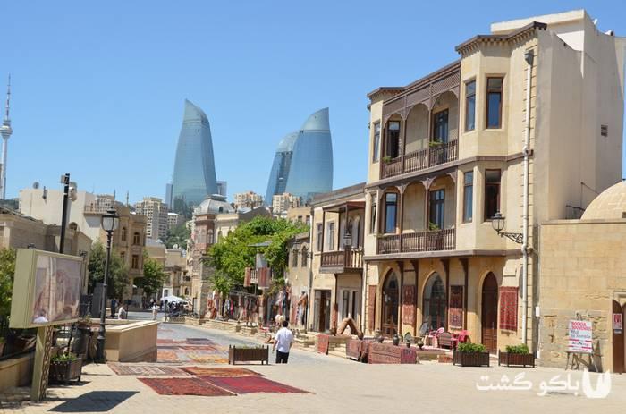 تور باکو | ایچری شهر یا شهر قدیمی باکو
