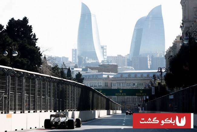 تور باکو ، فرمول یک باکو 2019