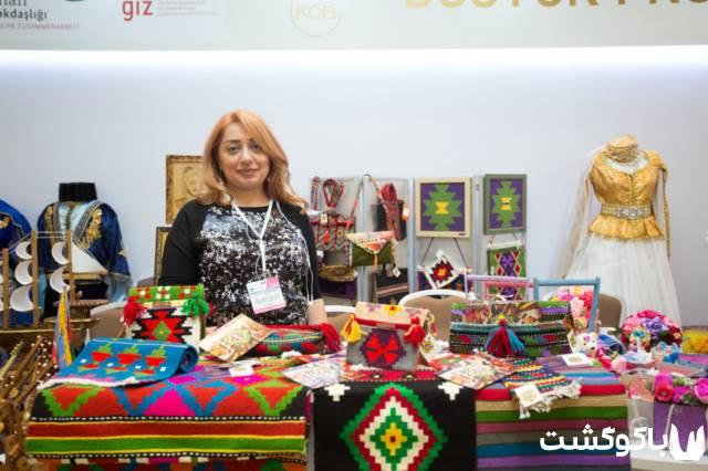 نمایشگاه صنایع دستی شرکت های کوچک در باکو