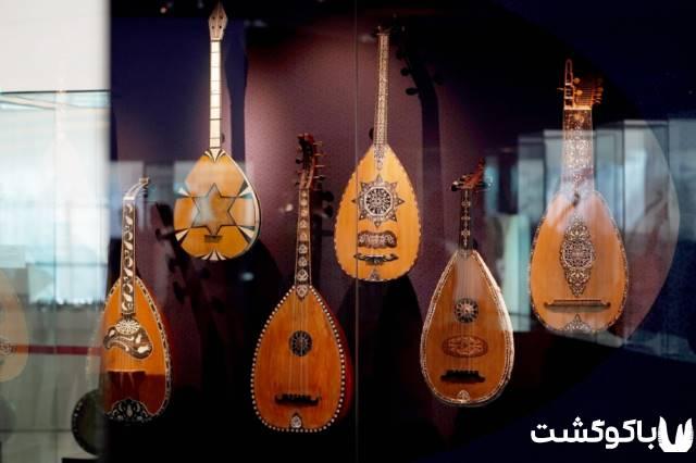 نمایشگاه سازهای موسیقی کم یاب در مرکز حیدر علی اف باکو