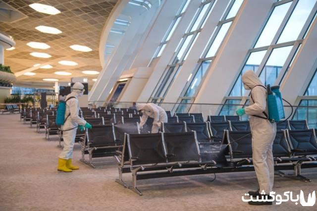کشور آذربایجان و هواپیمایی آزال در مقابل ویروس کرونا