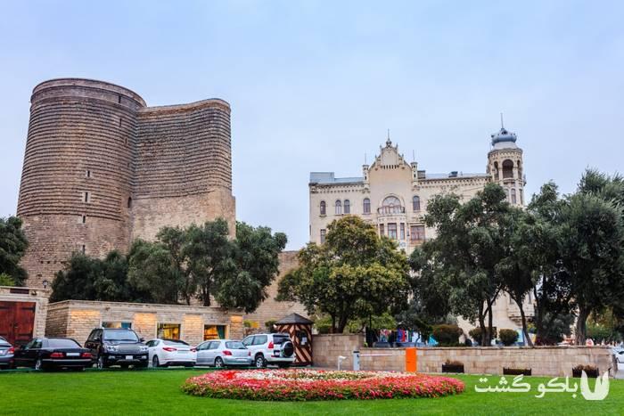 تور باکو | قیز گالاسی ، قلعه دختر باکو