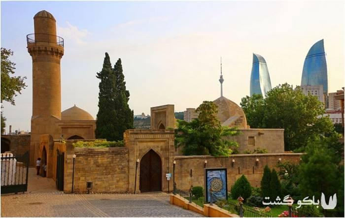 تور باکو | کاخ شیروان شاهان واقع در ایچری شهر