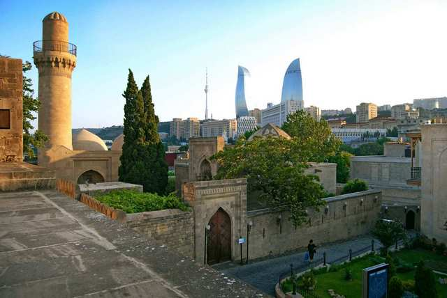 ایچری شهر باکو ، تور باکو ، هتل باکو