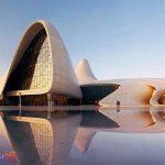 معماري مرکز فرهنگی حیدر علی اف باکو چگونه است؟